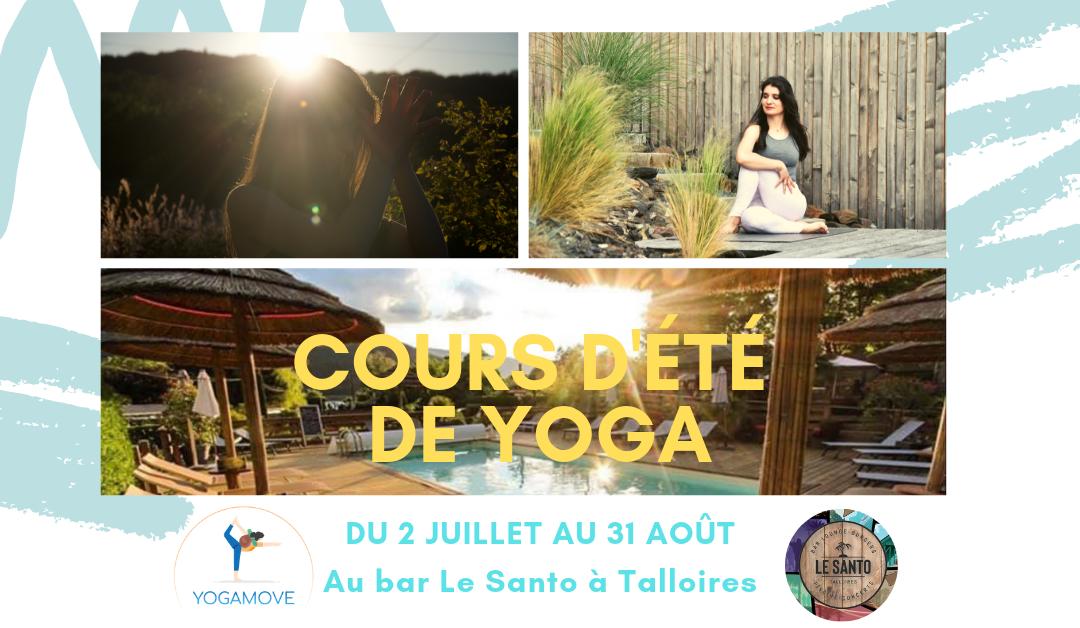 Cours d'été de Yoga – Talloires (Juillet-Août 2019)