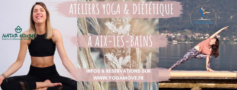 Ateliers Yoga & Diététique à Aix-les-Bains