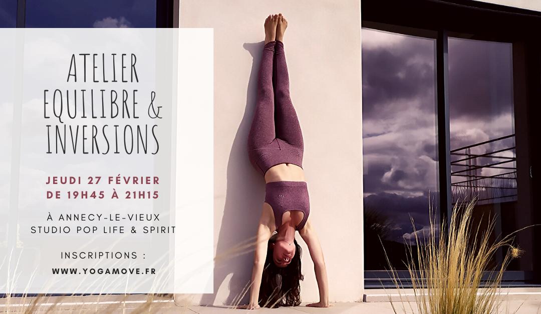 Atelier Equilibre & Inversions – Jeudi 27 Février 2020