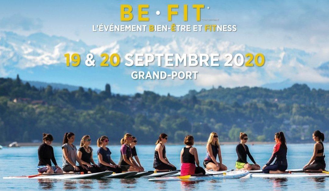 Atelier Vinyasa au «Be Fit Festival»– Dimanche 20 septembre à Aix-les-Bains