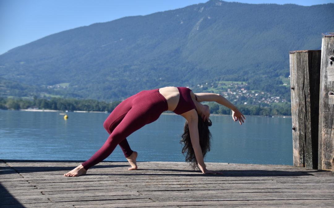 Yoga au bord du lac d'Annecy – Dimanche 21 Juin à 9h30